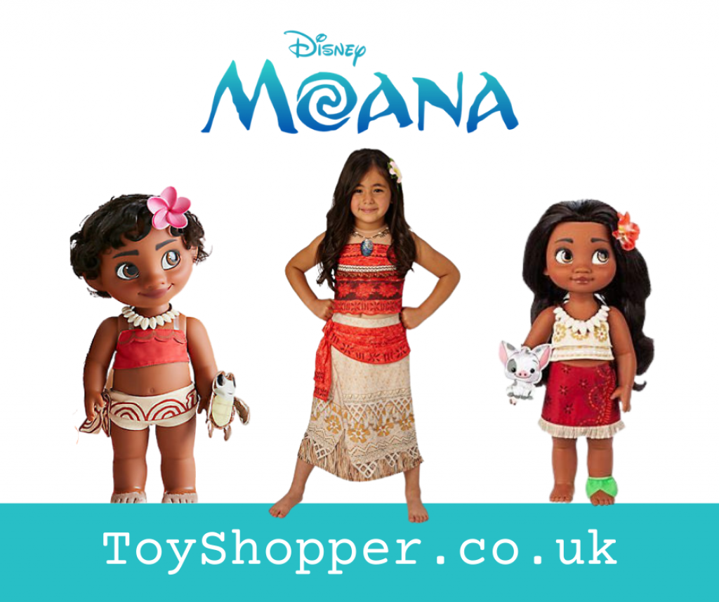 Moana Dolls, Costumes and Toys