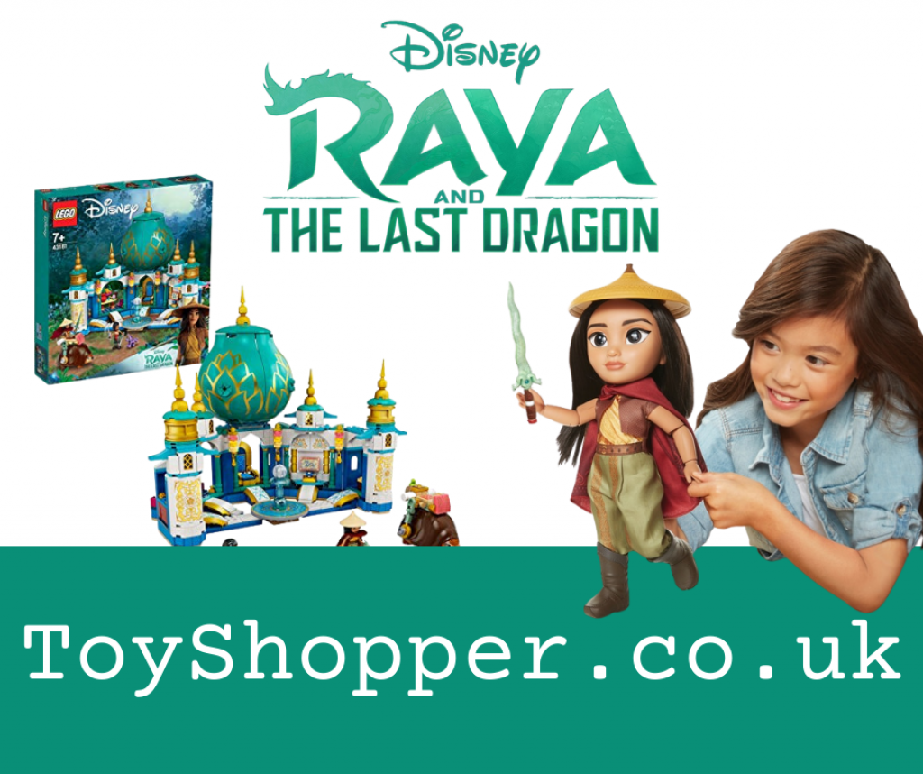 Raya and The Last Dragon Dolls, Toys and Costumes